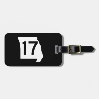 Missouri Route 17 Tag For Luggage