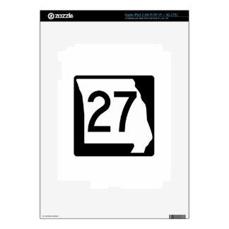 Missouri Route 27 iPad 3 Decal
