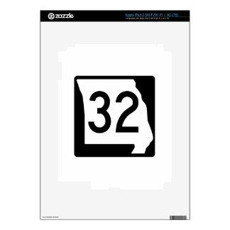 Missouri Route 32 iPad 3 Skins