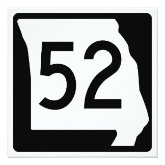 Missouri Route 52 Card