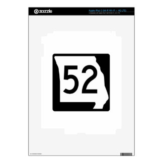 Missouri Route 52 Decals For iPad 3