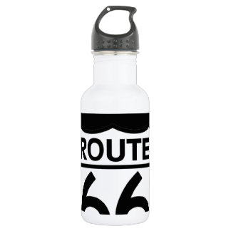Missouri Route 66 Shield Stainless Steel Water Bottle