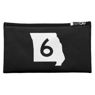 Missouri Route 6 Makeup Bag