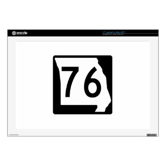 Missouri Route 76 Decal For Laptop