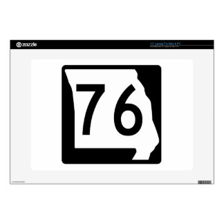 Missouri Route 76 Decals For Laptops