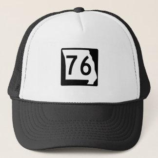 Missouri Route 76 Trucker Hat