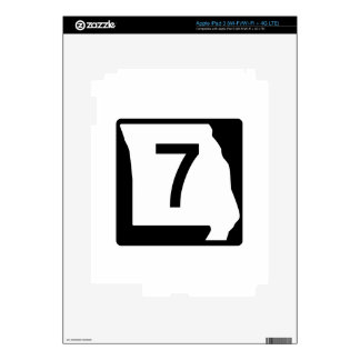 Missouri Route 7 iPad 3 Skin