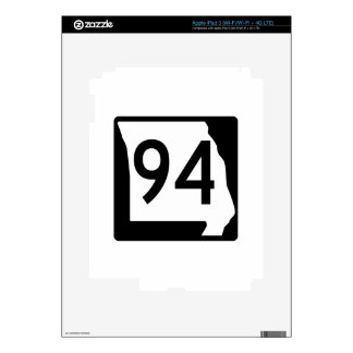 Missouri Route 94 Decal For iPad 3