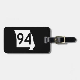Missouri Route 94 Luggage Tag