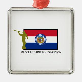 MISSOURI SAINT LOUIS MISSION LDS CTR METAL ORNAMENT
