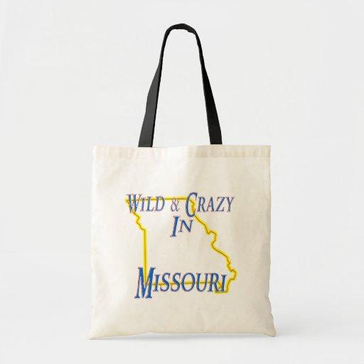 Missouri - salvaje y loco bolsa de mano