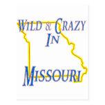 Missouri - salvaje y loco postales