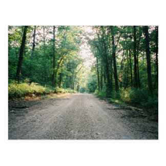 Missouri scenic road postcard