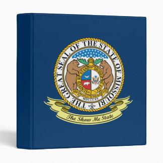 Missouri Seal 3 Ring Binder