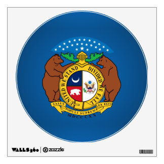 Missouri seal, American state seal Wall Decal