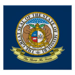 Missouri Seal Poster