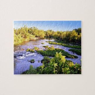 Missouri Shoal Creek Photograph Puzzle