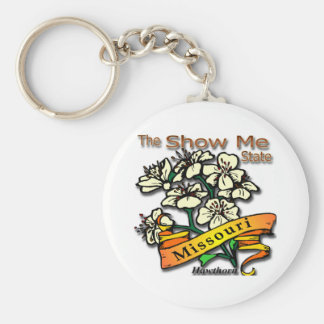Missouri Show Me State Hawthorn Key Chains