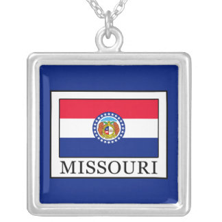 Missouri Silver Plated Necklace