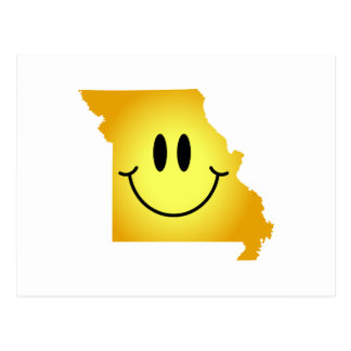 Missouri Smiley Face Post Cards