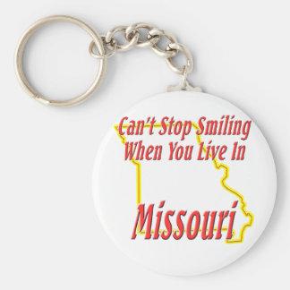 Missouri - Smiling Keychain