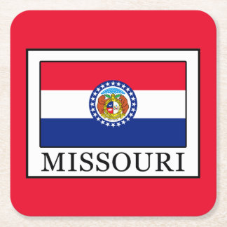 Missouri Square Paper Coaster
