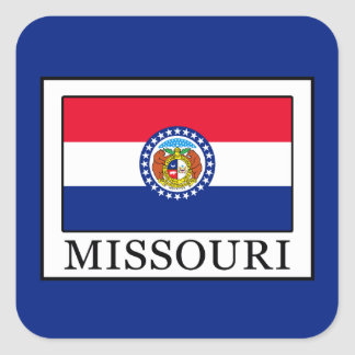 Missouri Square Sticker
