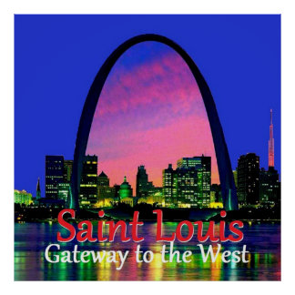 MISSOURI St. Louis Poster