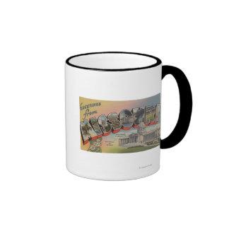 Missouri (State Capital/Flower) Ringer Mug