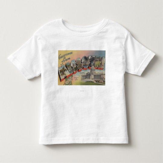 Missouri (State Capital/Flower) Toddler T-shirt