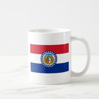 Missouri State Flag Classic White Coffee Mug