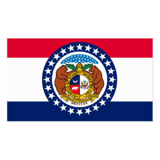Missouri State Flag Design Double-Sided Standard Business Cards (Pack Of 100)