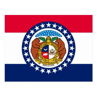 Missouri State Flag Design Postcard