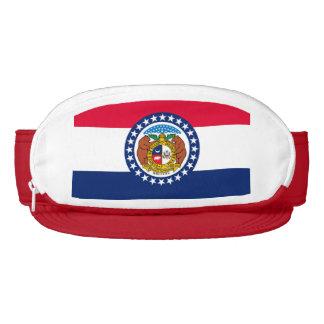 Missouri State Flag Design Visor