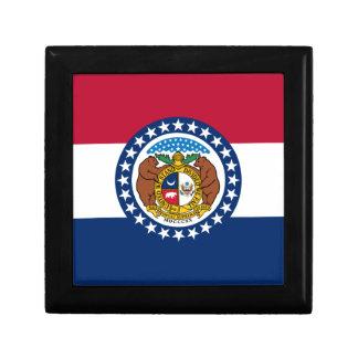 Missouri State Flag Gift Box
