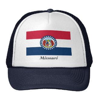 Missouri State Flag Trucker Hat