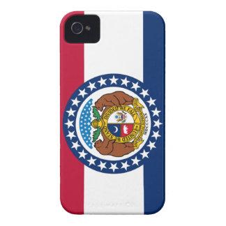 Missouri state flag iPhone 4 Case-Mate case