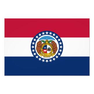 Missouri State Flag Photo