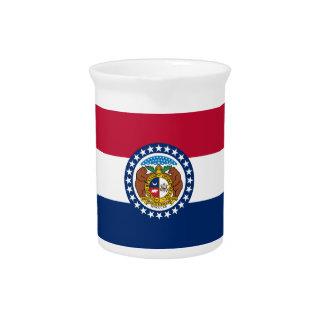 Missouri State Flag Pitchers