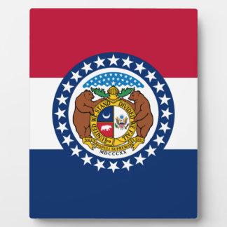 Missouri State Flag Plaques