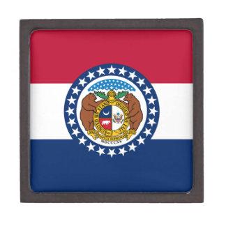Missouri State Flag Premium Jewelry Boxes