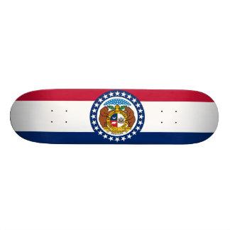 Missouri State Flag Skate Deck