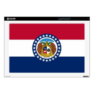 Missouri State Flag Skins For Laptops