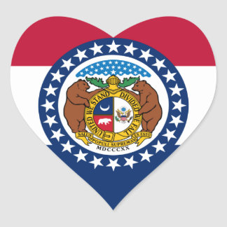 Missouri State Flag Stickers