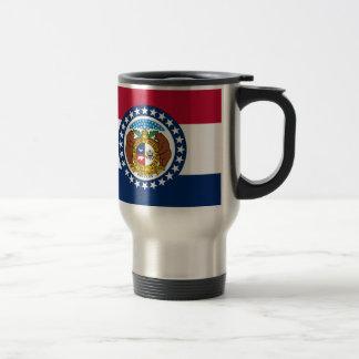 Missouri State Flag Travel Mug