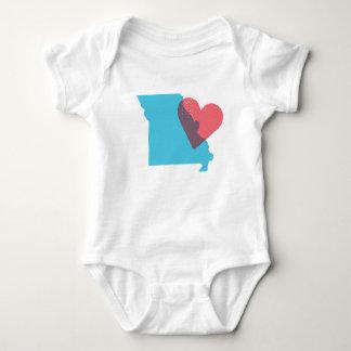 Missouri State Love Baby Shirt
