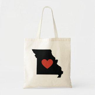 Missouri State Love Book Bag or Travel Tote
