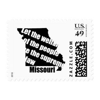 Missouri State Motto Postage