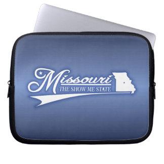 Missouri State of Mine Laptop Sleeves