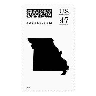 Missouri State Outline Postage